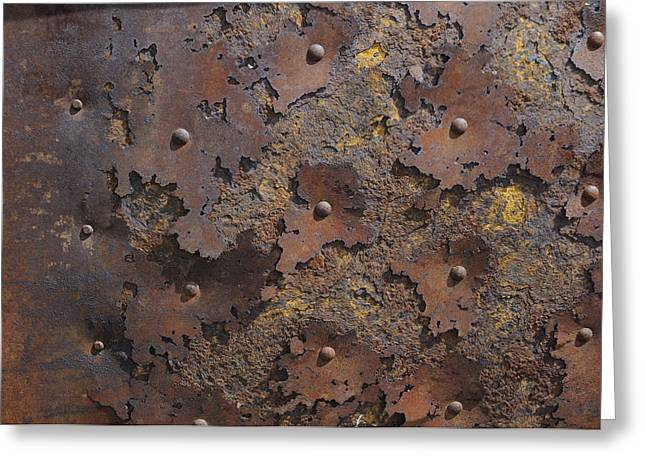 Daysray Photography Greeting Cards - Color of Steel 2 Greeting Card by Fran Riley
