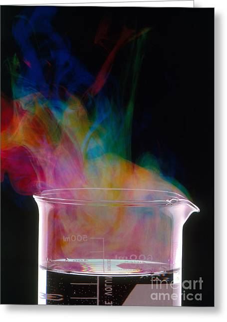 Color Vapors Greeting Card by Erich Schrempp