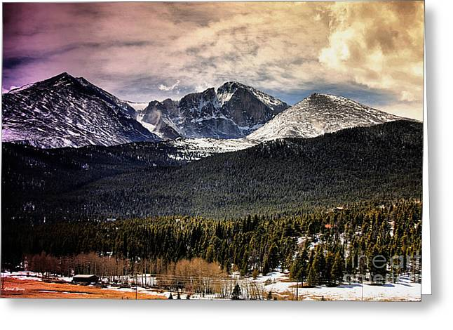 Cabin Wall Greeting Cards - Colorado 2 Greeting Card by Cheryl Young