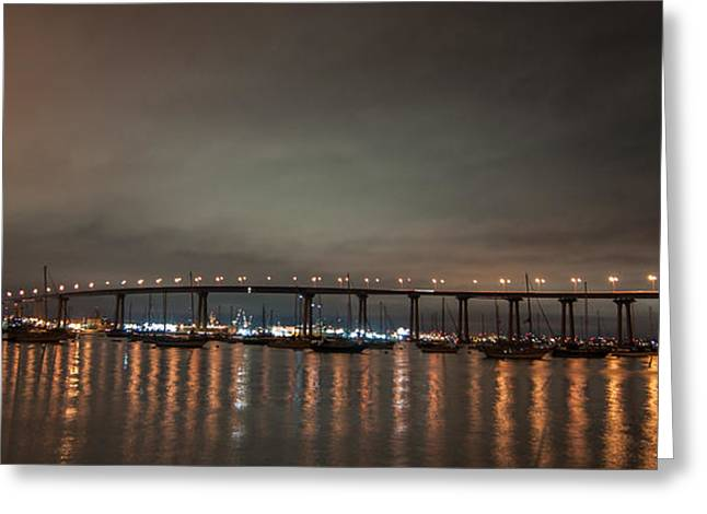 Gandz Photography Greeting Cards - Colorado Bridge San Diego Greeting Card by Gandz Photography