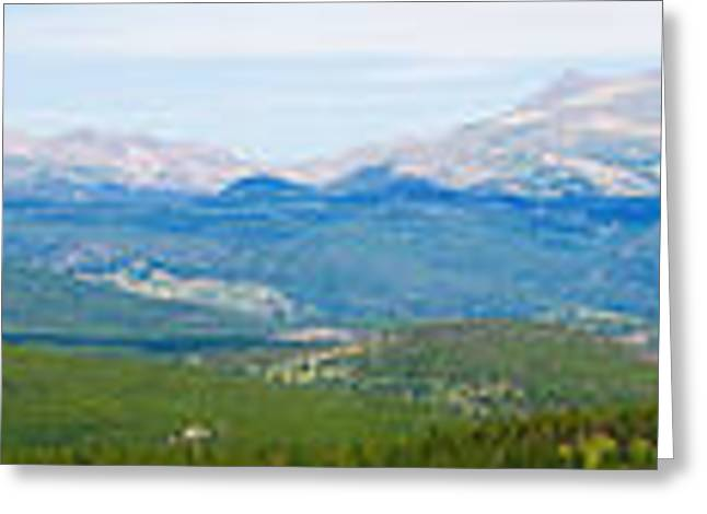 Colorado Continental Divide Panorama Hdr Greeting Card by James BO  Insogna