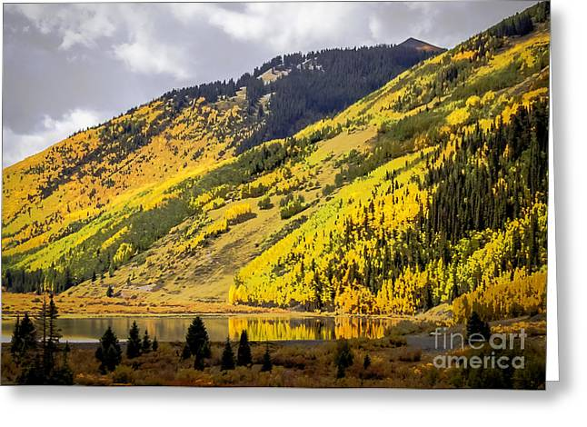 Mountain Valley Greeting Cards - Colorado Countryside Greeting Card by Janice Rae Pariza