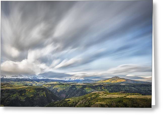 Colorado Artwork Greeting Cards - Colorado Garden Greeting Card by Jon Glaser