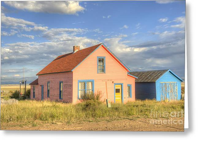 Rustic House Greeting Cards - Colorado Living Greeting Card by Juli Scalzi