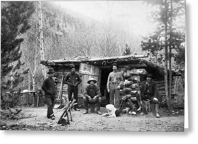Colorado Miners Greeting Card by Granger