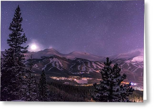 Great Greeting Cards - Colorado Night Greeting Card by Michael J Bauer