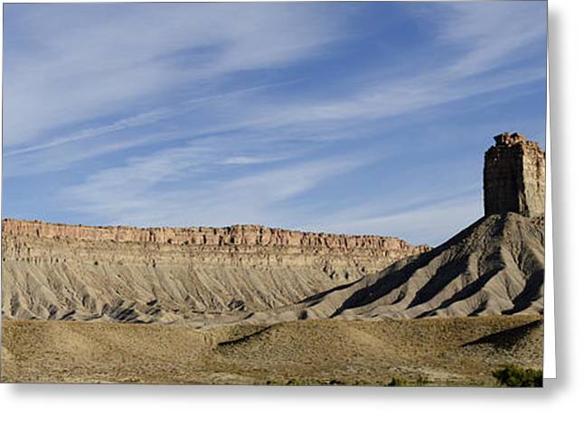 Elevation Digital Art Greeting Cards - Colorado Panorama I Greeting Card by David Gordon