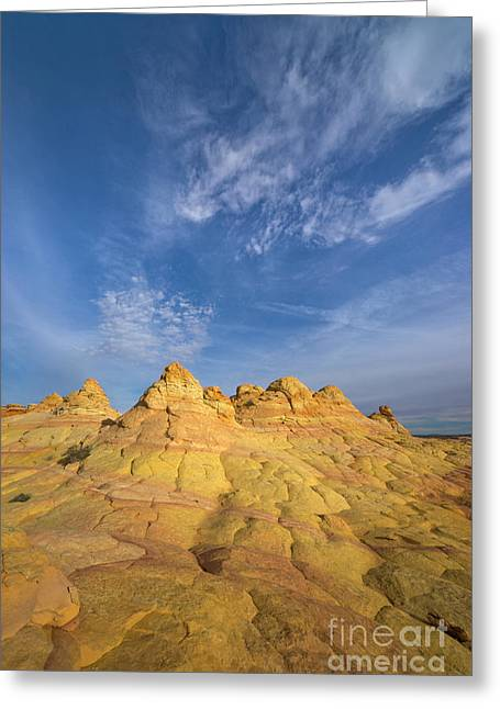 Colorado Plateau Coyote Buttes Arizona Greeting Card by