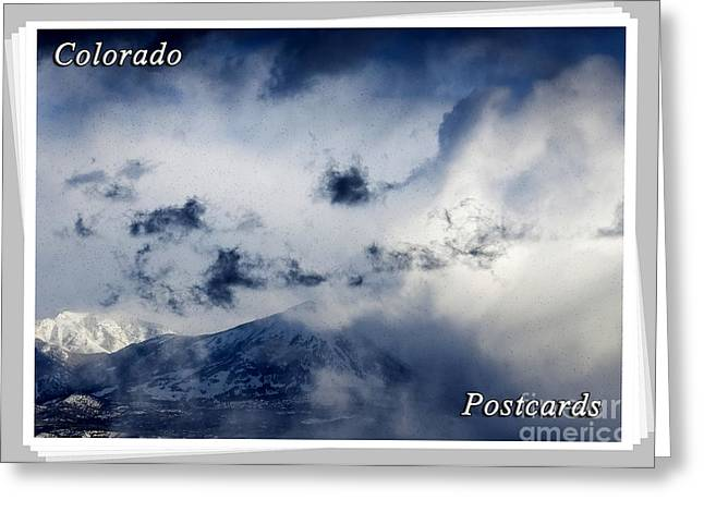 Snowy Day Greeting Cards - Colorado Postcards Greeting Card by Janice Rae Pariza