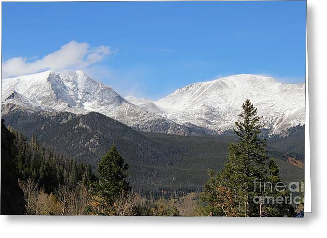 Colorado State University Greeting Cards - Colorado Rockies 2 Greeting Card by Douglas Lintner