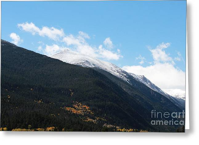 Colorado State University Greeting Cards - Colorado Rockies 3 Greeting Card by Douglas Lintner