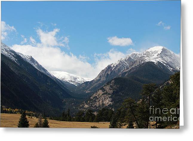 Colorado State University Greeting Cards - Colorado Rockies 4 Greeting Card by Douglas Lintner