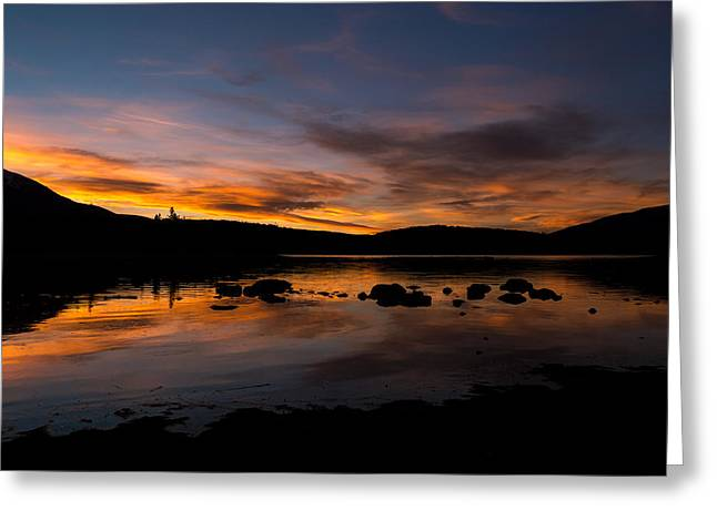 Adventure Greeting Cards - Colorado Summer Sunset Greeting Card by Michael J Bauer