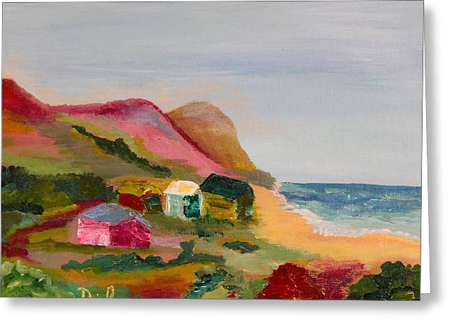 Cambria Greeting Cards - Colorful Cambria  Greeting Card by David  Sulsh