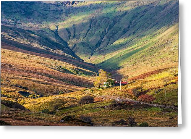 Tv Contest Greeting Cards - Colorful Connemara landscape in Ireland Greeting Card by Pierre Leclerc Photography