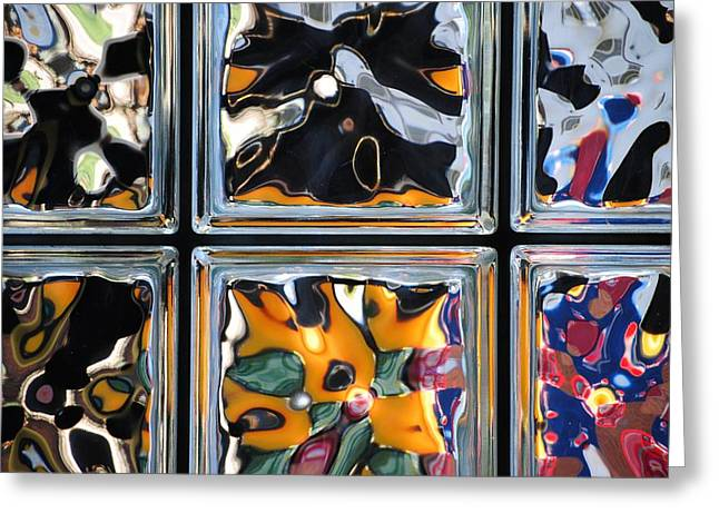 Colorful Contortion Greeting Card by Frozen in Time Fine Art Photography