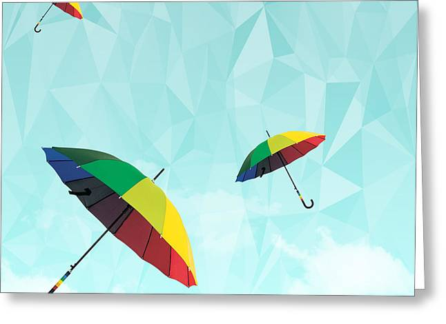 colorful day Greeting Card by Mark Ashkenazi