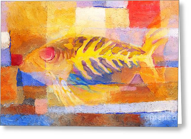 Colorful Fish Greeting Cards - Colorful Fish Greeting Card by Lutz Baar