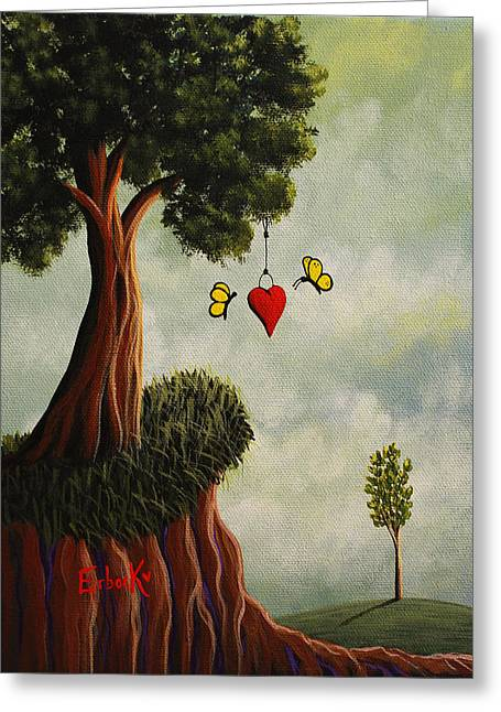 Decorative Paintings Greeting Card by Shawna Erback