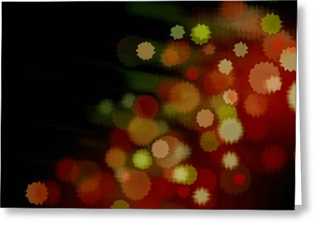 Pyrotechnics Greeting Cards - Colorful Lighting Greeting Card by Lanjee Chee