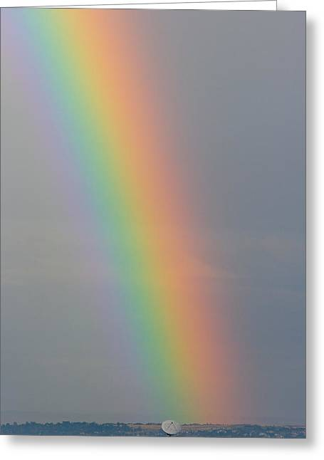 Striking Images Greeting Cards - Colorful Rainbow to Communicate Greeting Card by James BO  Insogna