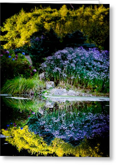 Loriental Greeting Cards - Colorful Reflection Greeting Card by Loriental Photography