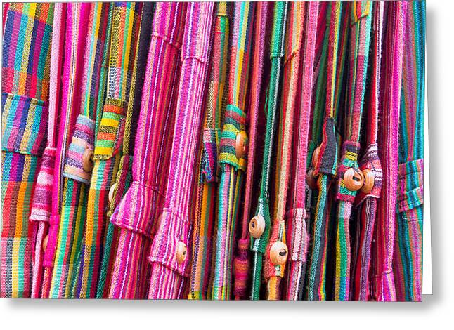 Selection Greeting Cards - Colorful trousers Greeting Card by Tom Gowanlock
