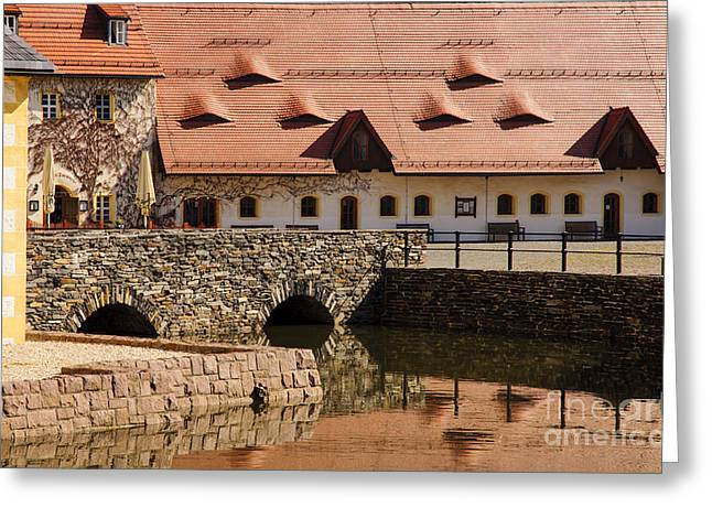 Moat Mountain Greeting Cards - Colors and reflections Greeting Card by Katja Zuske