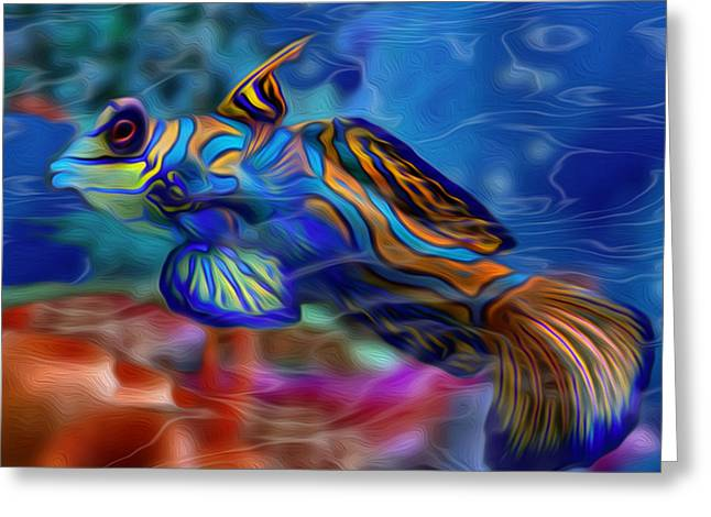 Iridescence Greeting Cards - Colors Below 2 Greeting Card by Jack Zulli