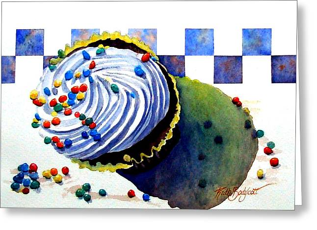 Colors For The Palate Greeting Card by Ruth Bodycott