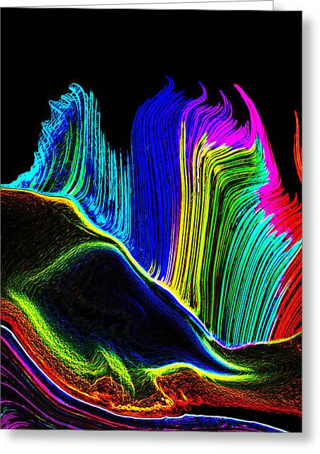 Photo Realism Greeting Cards - Colors in Black Greeting Card by Bruce Iorio