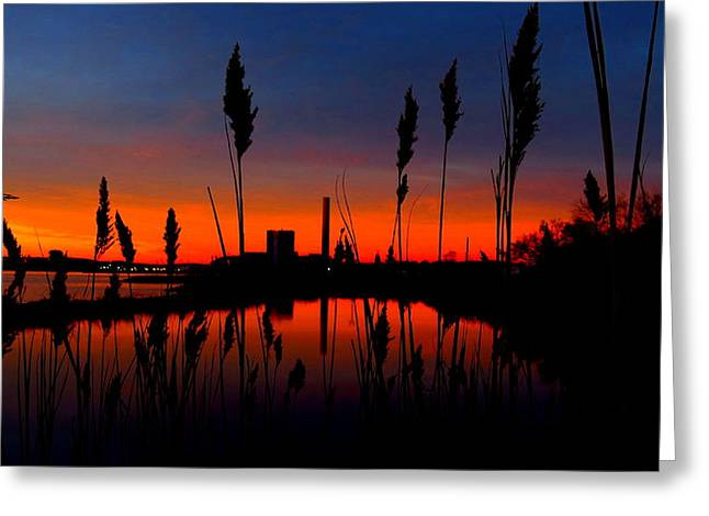 Colors In The Sky Greeting Card by Stephen Melcher