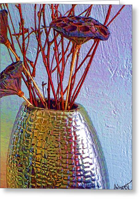 Interior Still Life Digital Greeting Cards - Colors Greeting Card by Marilyn Atwell