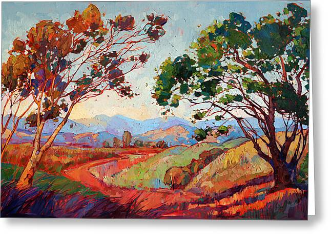 Paso Robles Greeting Cards - Colors of California Greeting Card by Erin Hanson