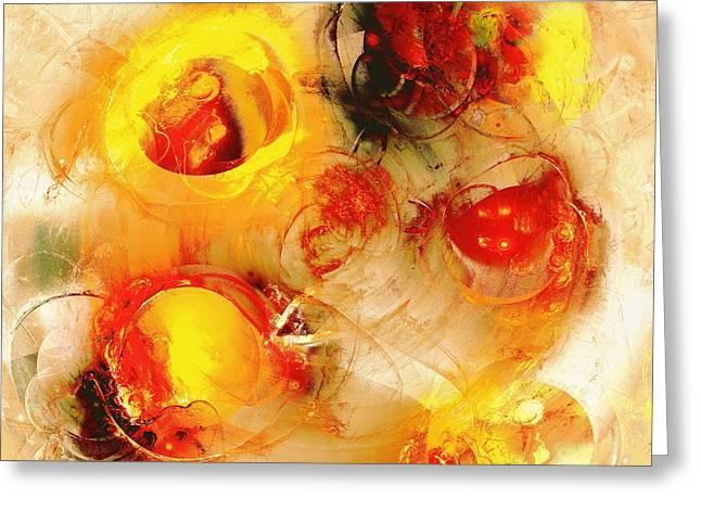 Colors of Fall Greeting Card by Anastasiya Malakhova