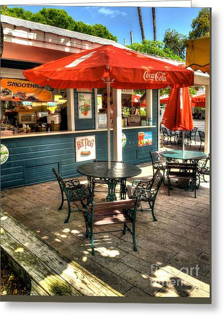 Colors Of Key West 4 Greeting Card by Mel Steinhauer