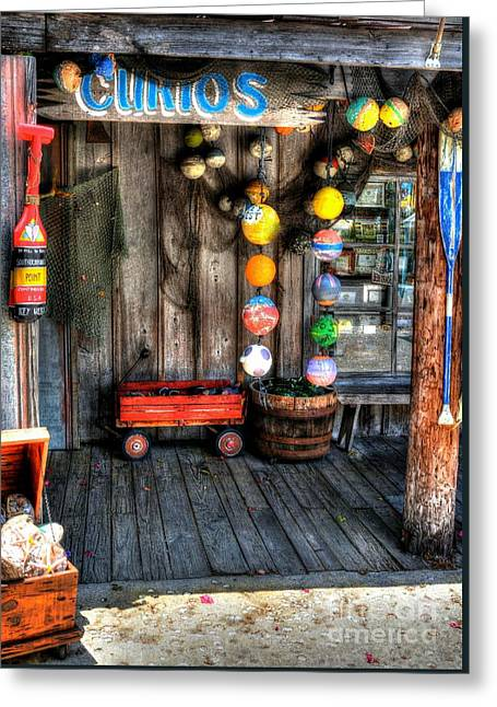 Colors Of Key West 5 Greeting Card by Mel Steinhauer