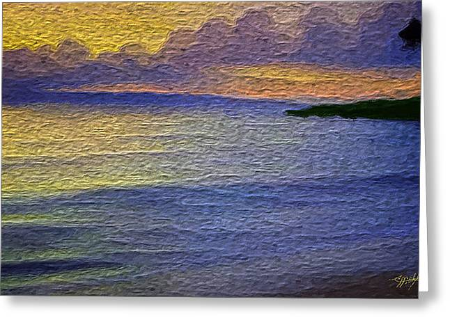 Seacape Greeting Cards - Colors of paradise Greeting Card by Anthony Fishburne