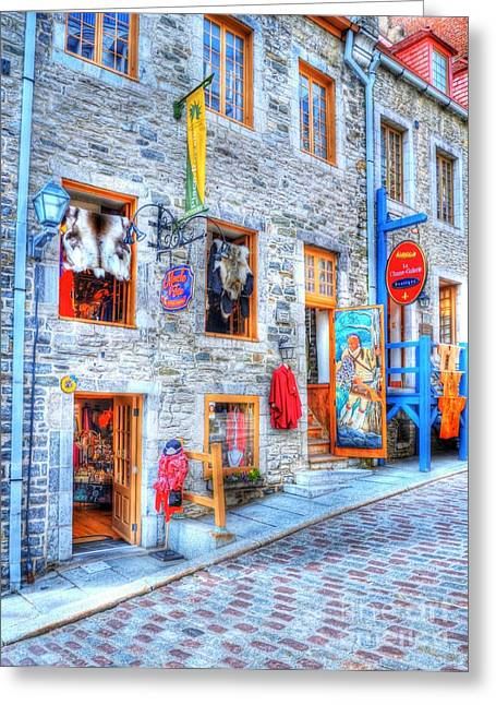 Drain Greeting Cards - Colors Of Quebec 12 Greeting Card by Mel Steinhauer