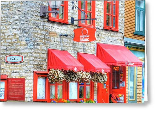 Colors Of Quebec 16 Greeting Card by Mel Steinhauer