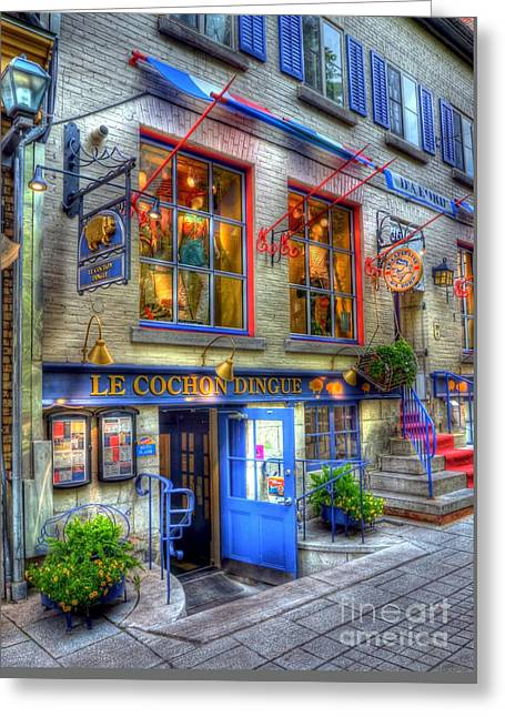 Colors Of Quebec 3 Greeting Card by Mel Steinhauer