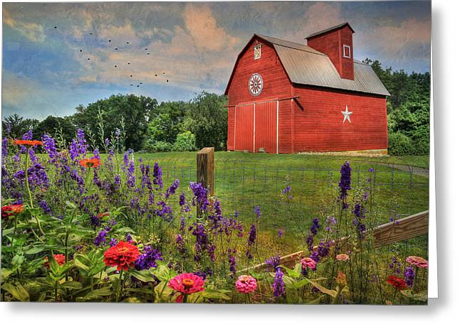 Colors Of Summer Greeting Card by Lori Deiter