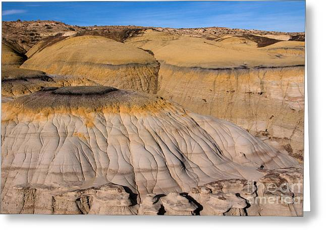 Colors Of The Badlands Greeting Card by Vivian Christopher