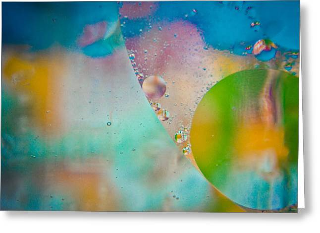 Office Space Greeting Cards - Colors of the Wind Greeting Card by Sara Frank