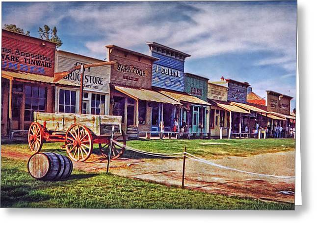 Westen Greeting Cards - Colors of Wild West Greeting Card by Hanny Heim