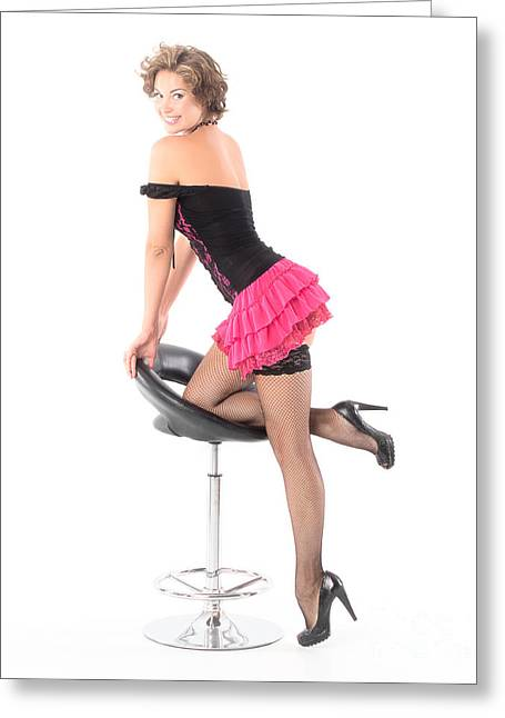 Full Skirt Greeting Cards - Colorspace test - sRGB Greeting Card by Harry Torque