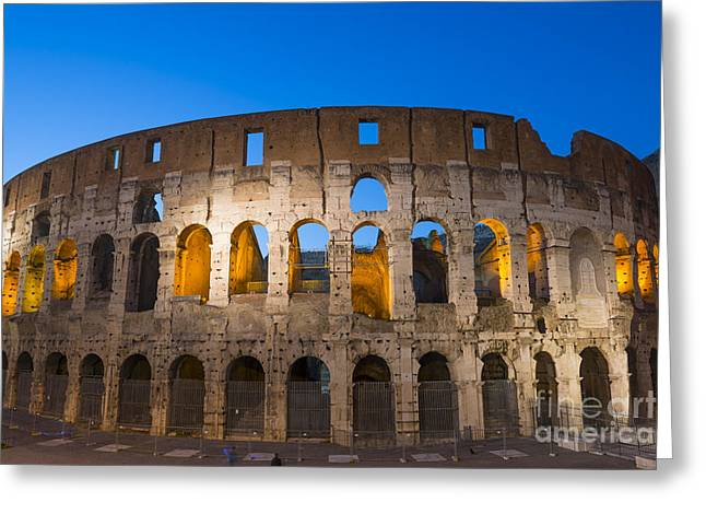 Colosseum  Greeting Card by Mats Silvan
