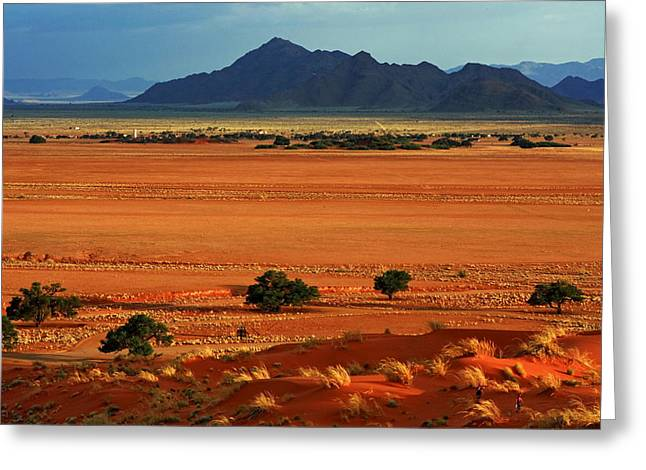 Desert Prints Greeting Cards - Colours Of Africa Greeting Card by Aidan Moran