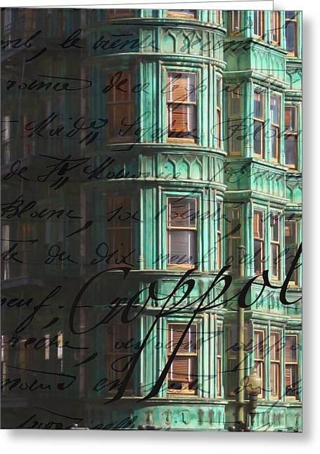 Francis Greeting Cards - Columbus Tower  Greeting Card by Kandy Hurley