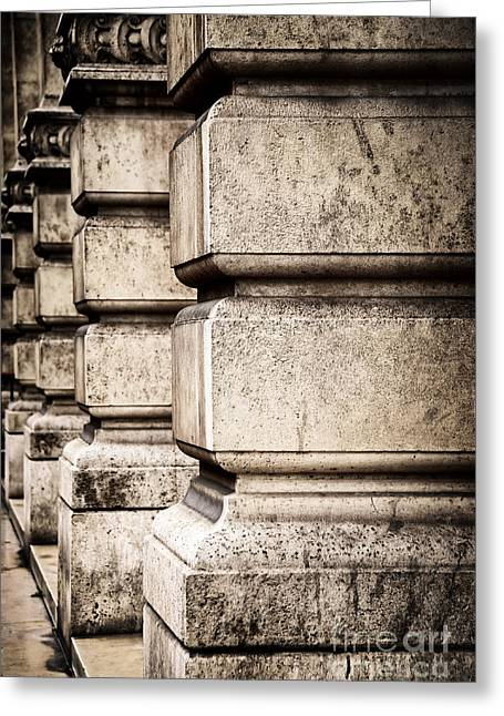Bas-relief Greeting Cards - Columns Greeting Card by Elena Elisseeva